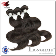 Trama de la cutícula llena única del pelo Stock Malaysian Virgin Hair Body Wave 3 unids Lot
