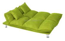 Fashion Suede sofa cum bed / folding sofa B153b