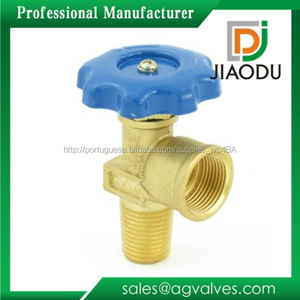 China fabricação personalizado forjado npt 600 wog latão válvula de controle de gás glp