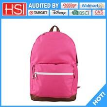 audited factory wholesale price comfortable pvc school bag