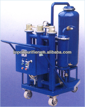 Low cost and economical portable oil purification machine is continuous removal of particle contamination in oil