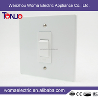 Hot China Products Wholesale 10A Socket Switch South Africa Style IRON Function Of Socket Outlet