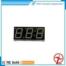 3 dight 7 segment red color led display for gas station