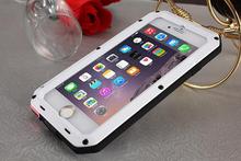 2016 Hot Sale Aluminum Metal Phone Case new full cover phone case for Iphone 6 plus,fashion design mobile case