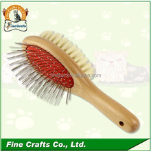 Hot sale durable Wooden Brush dog grooming