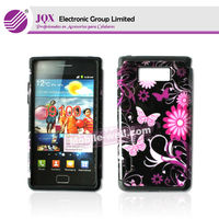 For Samsung Galaxy S2 i9100 PC+Silicon 2 in 1 case