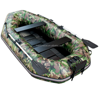 Camou PVC inflatable boat fishing boat for sale