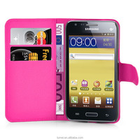 Book Style Wallet Pu Leather Card Slot Case Cover For Samsung Galaxy Core Plus