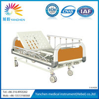 good quality operating hot sale three function manual bed
