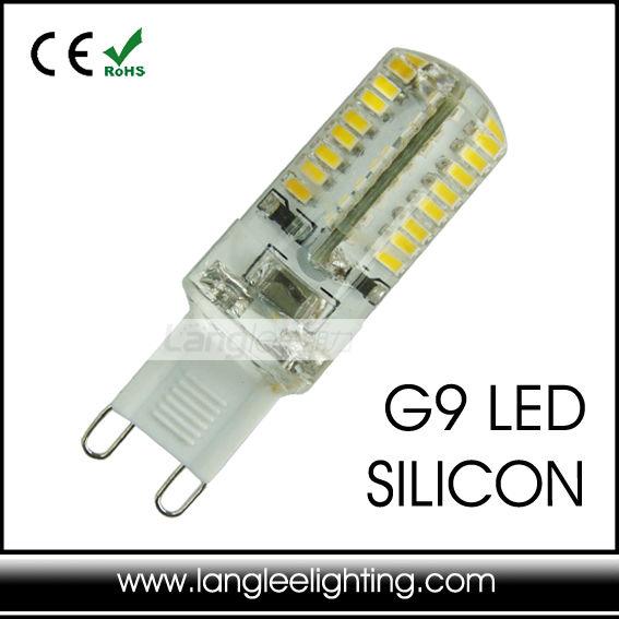 warm white gu9 g9 silicone led light bulb 3w compact. Black Bedroom Furniture Sets. Home Design Ideas