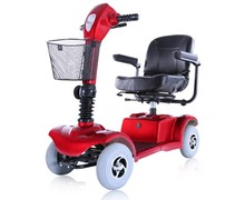 Hot 2015 D101-B CE European Standard Heavy-duty Mobility 4 Wheel Electric Scooter for Handicapped & Elders