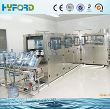 New 3 or 5 gallons bottle liquid washing filling capping machine