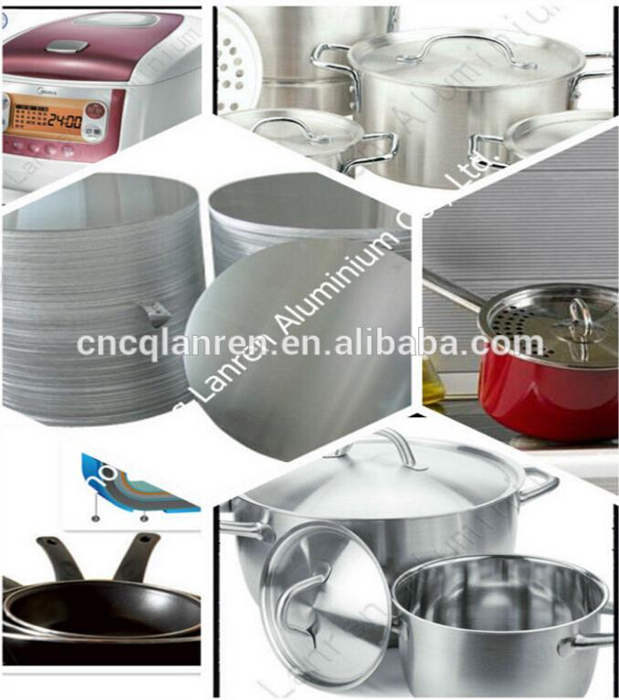 A3003 o ddq c rculo de aluminio para utensilios de cocina for Fabrica de utensilios de cocina
