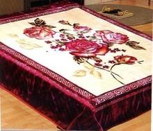 100% polyester blanket acrylic mink blanket queen size mink blankets