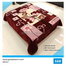 china blanket factory best discount soft feel 100% polyester children blanket