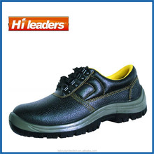 Chiese New Design unisex Leather Safety shoes with steel toe cap