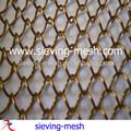 Architecturaux décoratifs rideaux métalliques pour tentures matériel, plafond des bâtiments tissu drapé