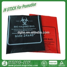 Bio-hazard Infectious Waste Medical Waste Plastic Gusset Medical Garbage Bag for Hospital