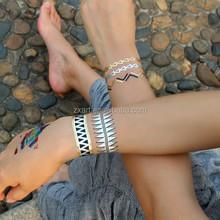 Wholesale Metallic Temporary Body Jewelry Tattoo