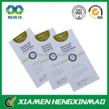 Glossy lamination Custom school leaflet flyer , advertising menu/leaflet /flyer /brochure/ catalog/ flyer/ magazine printing