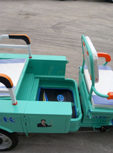 Made in China 3 wheel electric vehicle for cargo and passenger/green energy tricycle