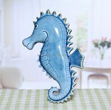 Fashion sea horse ceramic gift items