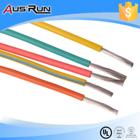 silicone insulated flexible electric wire and cable QGR used for car lighting
