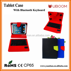 7/8/9/10inch Android tablet pc leather keyboard case with fashion color