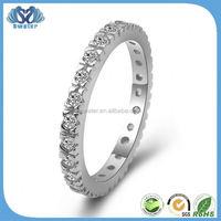 2015 Romantic Plain Design 925 Silver Ring