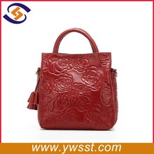 trend leather handbag from guangzhou factory