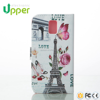 2015 Christmas r64 pu wallet leather case for galaxy note 4