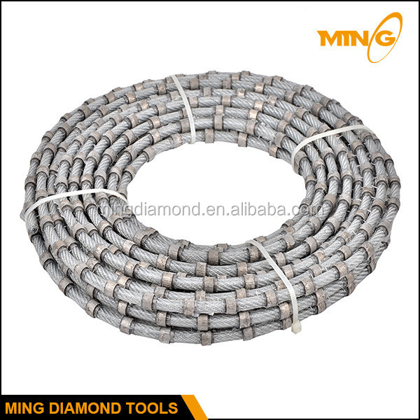 Imported Steel Wire Rope Plastic Diamond Wire For Stone Cutting ...
