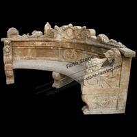 outdoor marble bench antique stone garden benches GSB233