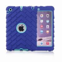 Heavy Duty Tough Shockproof Case Cover for Apple iPad mini 4 3 Tire Grain