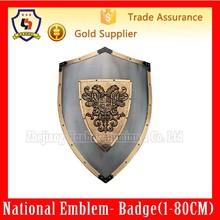 Medieval Shield And Sword Medieval swords (HH-emblem-031H)