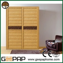 2015 hot selling closet cabinet and wardrobe price sliding door