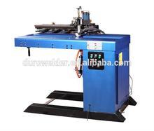 Automatica tig/mig recta/longitudinale costura maquina de soldadura