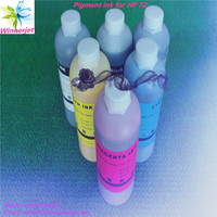 Alibaba China gold supplier 100% Compatible #72 Pigment Based Ink for HP Designjet T610 T1100 Printer Cartridges