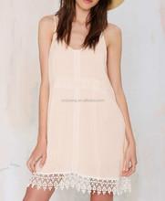 Sexy hot lighten up lace crochet dress, fat fit glamorous summer sundress for Girl - SYK15111