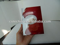 2014 Hot gift 2.8 inch greeting video card for valentine day, very beautiful video card