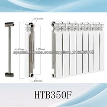 de acero y aluminio radiadores