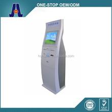 touchscreen freestanding cash payment and bill acceptor kiosks (HJL-3651)