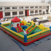 giant inflatable fun land