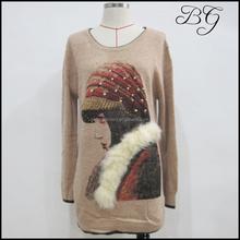 Sweater factory retail wholesale newest girls/ladies/women sweater pullover BG151242