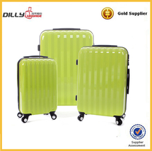 four-wheel travel style abs and pc travel bag