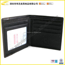 Fashion HOT Selling Custom Genuine Leather PU Leather RFID Men Wallet Card Holder Wallet For Money And Credit Card