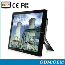 "capacitive touch of 15"" monitor touch industry machine with DVI input"