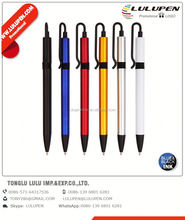 translucent classic promotional pen; stick ballpoint pen; promotional crystal ball pen