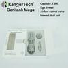Newly Developed Top Quality Kanger Genitank Vaporizer Kanger Genitank Mega