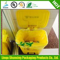 China manufacturer HDPE cheap grocery garbage bin plastic bag